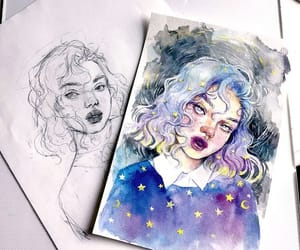 draw, watercolor, and paint image