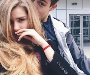 boyfriend, couple, and couple love image