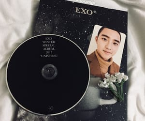 album, lay, and suho image