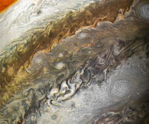 jupiter, solar system, and outer space image