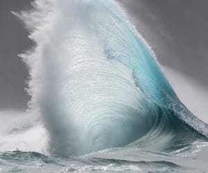 ocean, sea, and wave image