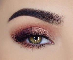 eye, eye makeup, and eyes image