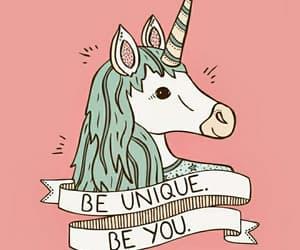 art, magic, and unicorn image