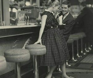 50s, cafe, and oldschool image