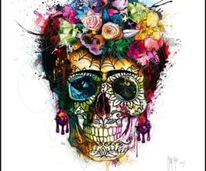 arte, belleza, and Halloween image