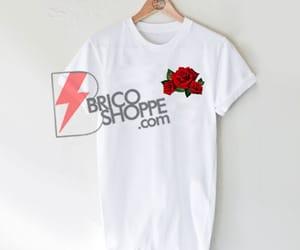 rose, roses, and shirt image