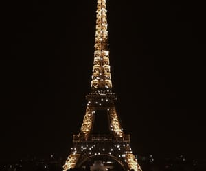 autumn, eiffel tower, and europe image