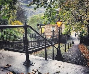 autumn, fall, and edinburgh image