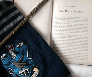 ravenclaw, harry potter, and book image