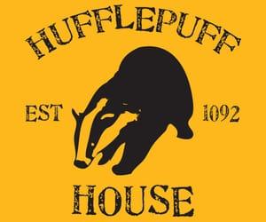 harry potter, hufflepuff, and aesthetic image