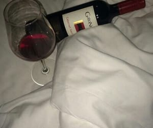 wine, alcohol, and red image