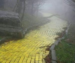 yellow, Wizard of oz, and yellow brick road image