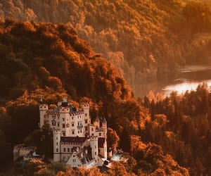 castle, autumn, and aesthetic image