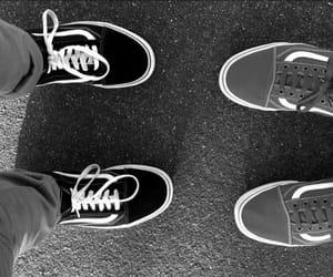 black, black & white, and white image