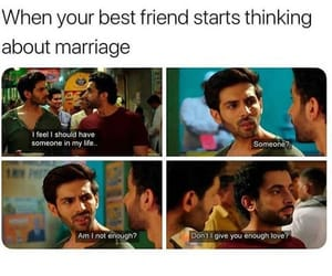 best friends, funny, and joke image