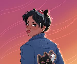 catwoman, fanart, and Q image