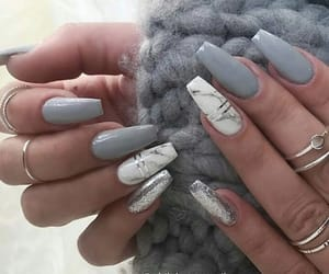grey, hands, and marble image