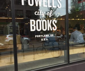 books, downtown, and portland image