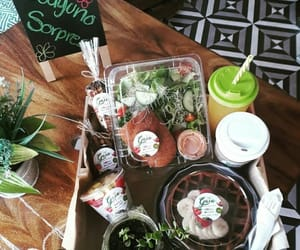 breakfast, food, and gaia image