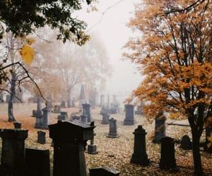 aesthetic, autumn, and dark image