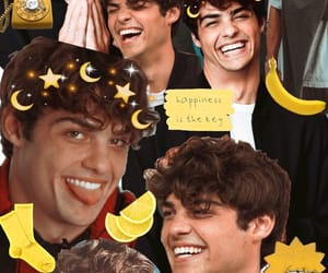 noah centineo, wallpaper, and yellow image