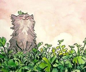 cats, felinos, and naturaleza image