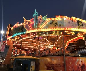 aesthetic, carnival, and creepy image