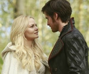 once upon a time, killian jones, and emma swan image