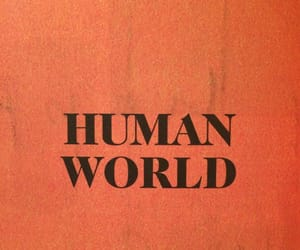 orange, human, and world image