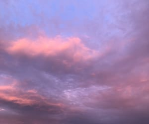 cloud, mood, and pink image