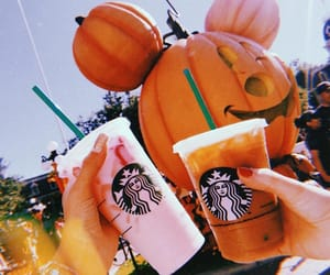 starbucks, autumn, and drink image