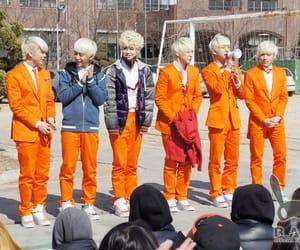 group, kpop, and orange image