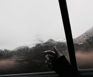 sad, grunge, and rain image