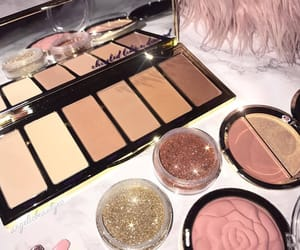 beauty, eyeshadow, and girly image