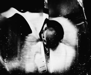 art, b&w, and dark image