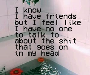 quotes, flowers, and friends image