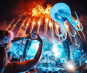 tomorrowland, festival, and rave image
