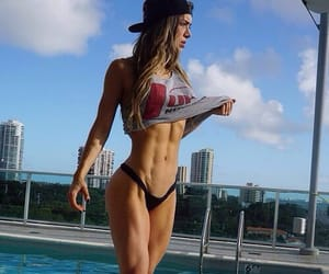 beauty, fitness, and fashion image