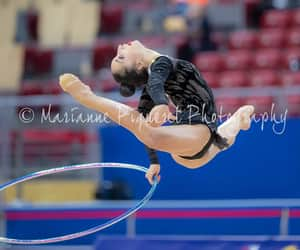 hoop, pazhava, and rhythtmic gymnastics image