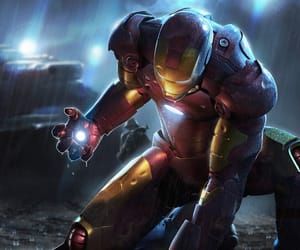 comics, iron man, and superheroes image