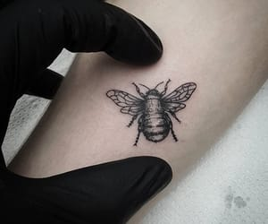 bee, design, and idea image