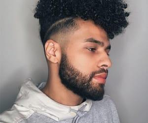 adidas, beard, and fade image