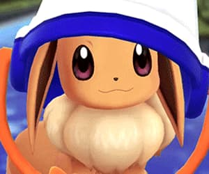 bucket, cute, and eevee image