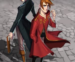 lila, rhy, and the raven boys image