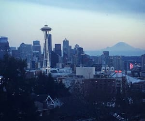 city, washington, and Space Needle image