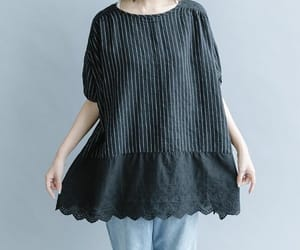 summer top, linen top, and cotton top image