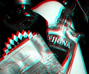 3d, alcohol, and psychedelic image