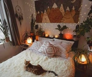 autumn, bedroom, and room image