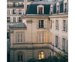 building, paris, and travel image