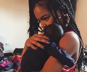 baby and teyana taylor image
